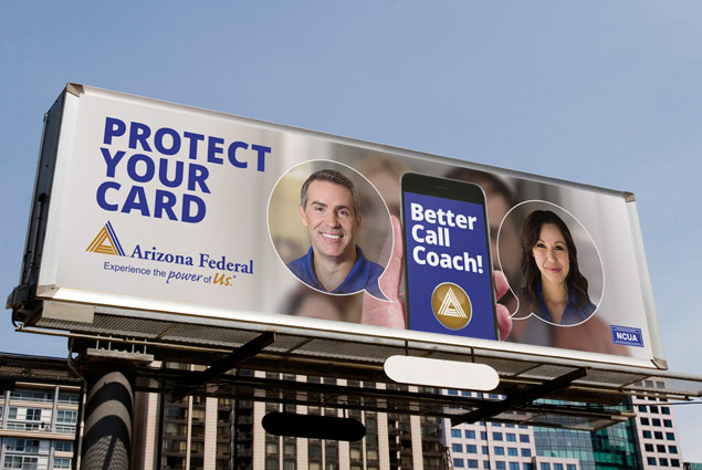 credit union outdoor advertising