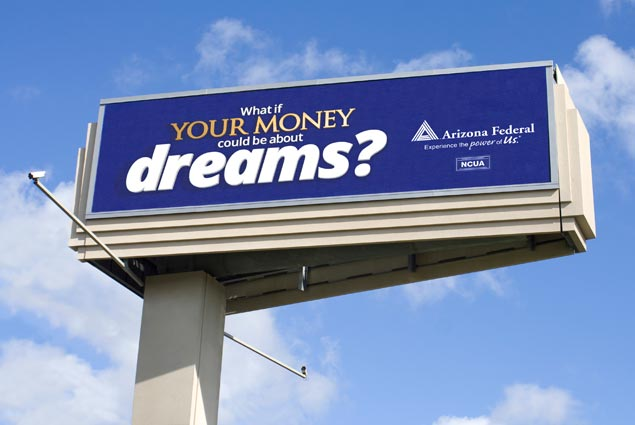 credit union billboards
